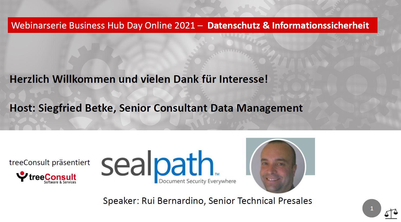 Sealpath Webinar - Sicherheit, die mit Ihren Dateien reist