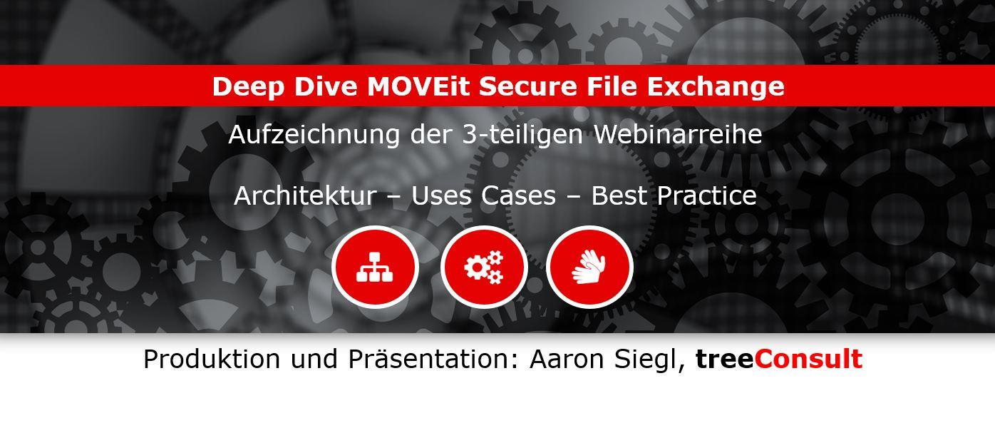 """treeConsult präsentiert Webinarserie """"Deep Dive MOVEit Secure File Exchange"""""""